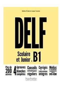 DELF B1 Scolaire & Junior NE podręcznik +DVD-Rom