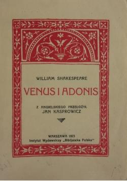 Venus i Adonis ,1923r.
