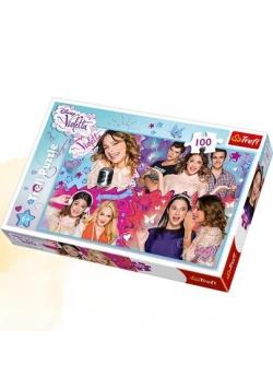 Puzzle 100 Zakręcony świat Violetty TREFL