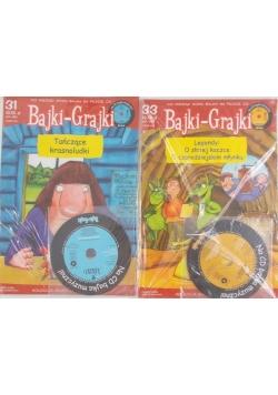 Bajki-Grajki z płytą CD nr 31 i 33