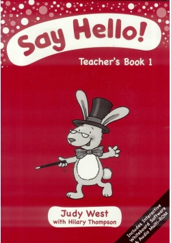 Say Hello 1. Teacher's Book + CD-ROM