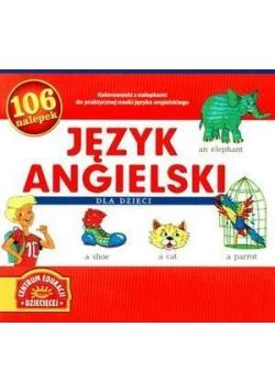 Język angielski dla dzieci 106 nalepek