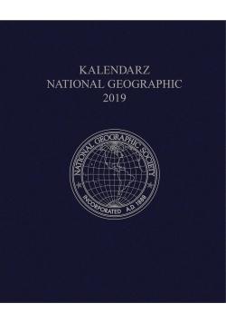 Kalendarz 2019 National Geographic granatowy