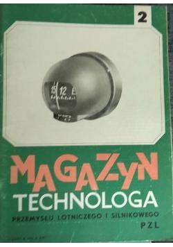 Magazyn technologa przemysłu lotniczego i silnikowego nr.2. Rok XX