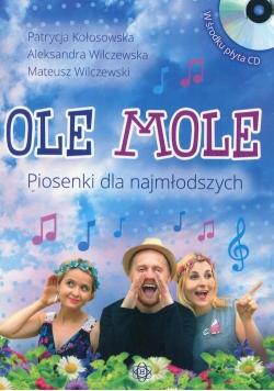 Ole Mole Piosenki dla najmłodszych + CD
