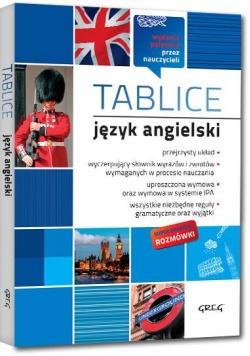Tablice: język angielski (+ rozmówki) GREG