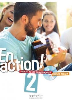 En action! 2 podręcznik wieloletni + CD HACHETTE