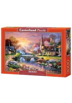 Puzzle 3000 Spokojne refleksje CASTOR