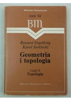 Geometria i topologia, cz. II