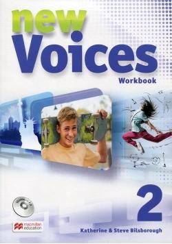 New Voices 2 Zeszyt ćwiczeń z płytą CD wersja wieloletnia