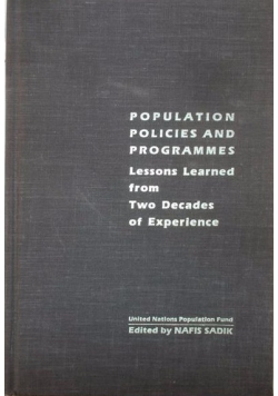 Foundations of American Population Policy