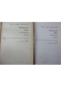 Melioracje rolne, tom 1 i 2