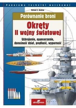 Porównanie broni. Okręty II wojny światowej