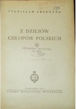 Z dziejów chłopów Polskich