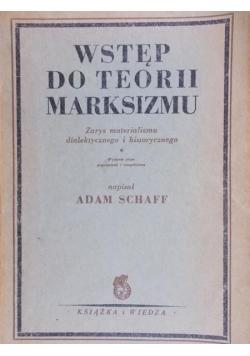 Wstęp do teorii marksizmu, 1950r.