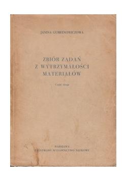 Zbiór zadań z wytrzymałości materiałów, cz.2
