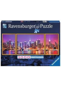 Puzzle Nowy Jork Tryptyk 1000