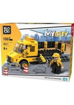 Klocki Blocki MyCity Laweta 133 el.