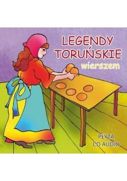 Legendy toruńskie wierszem CD audiobook