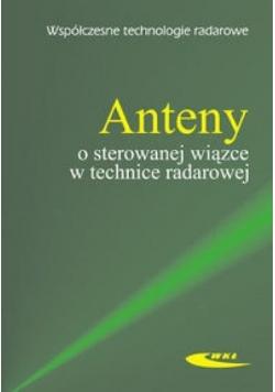 Anteny o sterowanej wiązce w technice radarowej