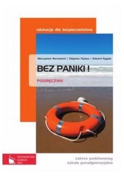 Edukacja dla bezpieczeństwa, klasa 1-3, poziom podstawowy, Bez paniki!, podręcznik