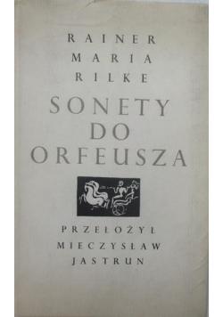 Sonety do Orfeusza