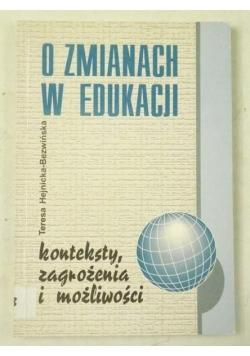 O Zmianach W Edukacji