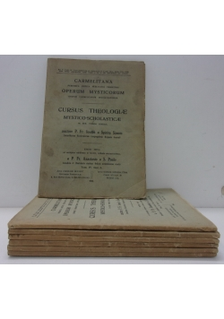 Cursus Theologiae Mystico-Scholasticae,t.IV, cz.1-7, 1931-32r.