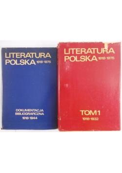 Literatura Polska 1918-1975, zestaw 2 książek