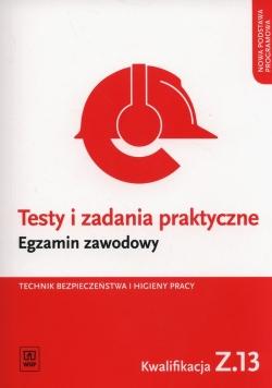 Testy i zadania praktyczne Egzamin zawodowy Technik bezpieczeństwa i higieny pracy