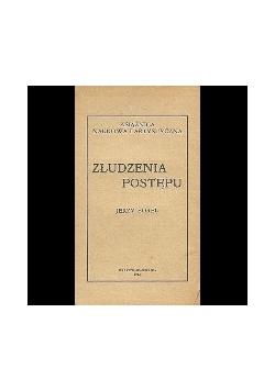Złudzenia postępu, 1912 r.