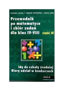 Przewodnik po matematyce i zbiór zadań dla klas IV-VI