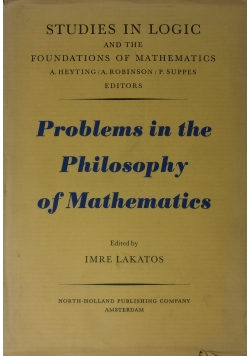 Problems in the Philosophy of Mathematics