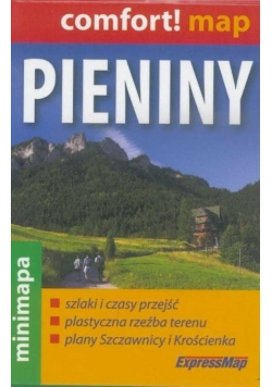 Comfort!map Pieniny 1:50 000 mapa mini 2018