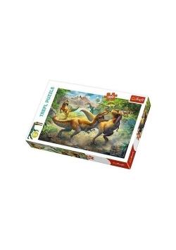 Puzzle 160 Walczace Tyranozaury TREFL