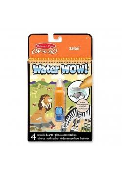 Kolorowanka wodna Safari