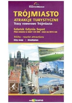 Trójmiasto-atrakcje turystyczne plan miasta