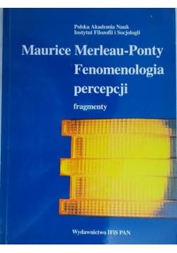 Fenomenologia percepcji