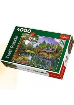 Puzzle 4000 Popołudniowa sielanka TREFL