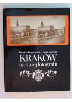 Kraków na starej fotografii