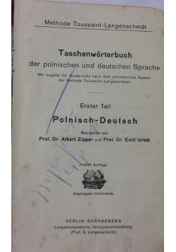 Langenscheidta słowniki kieszonkowe, 1921