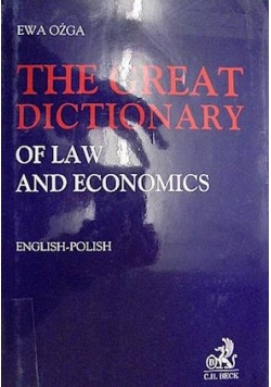 The great dictionary of law and economics