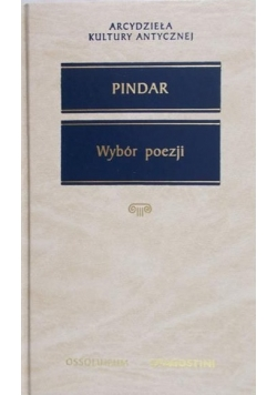 Pindar - Wybór poezji