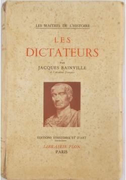 Les Dictateurs, 1939 r.