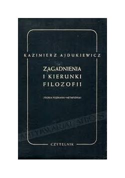 Zagadnienia i kierunki filozofii, 1949r.
