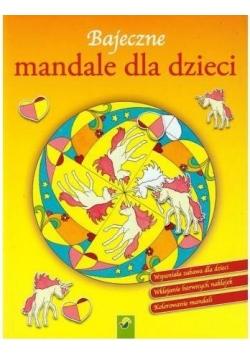 Bajeczne mandale dla dzieci - Jednorożec