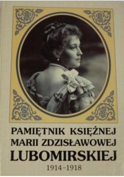Pamiętnik księżnej Marii Zdzisławowej Lubomirskiej