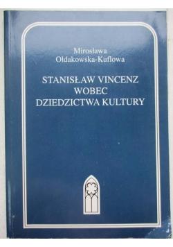 Stanisław Vincenz wobec dziedzictwa kultury