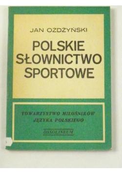 Polskie słownictwo sportowe