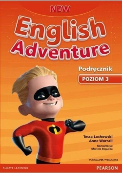 English Adventure New 3 SB + CD PEARSON wieloletni